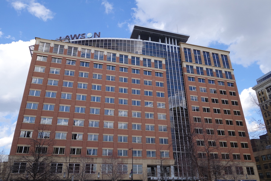 Lawson Software headquarters in St. Paul, Minnesota.