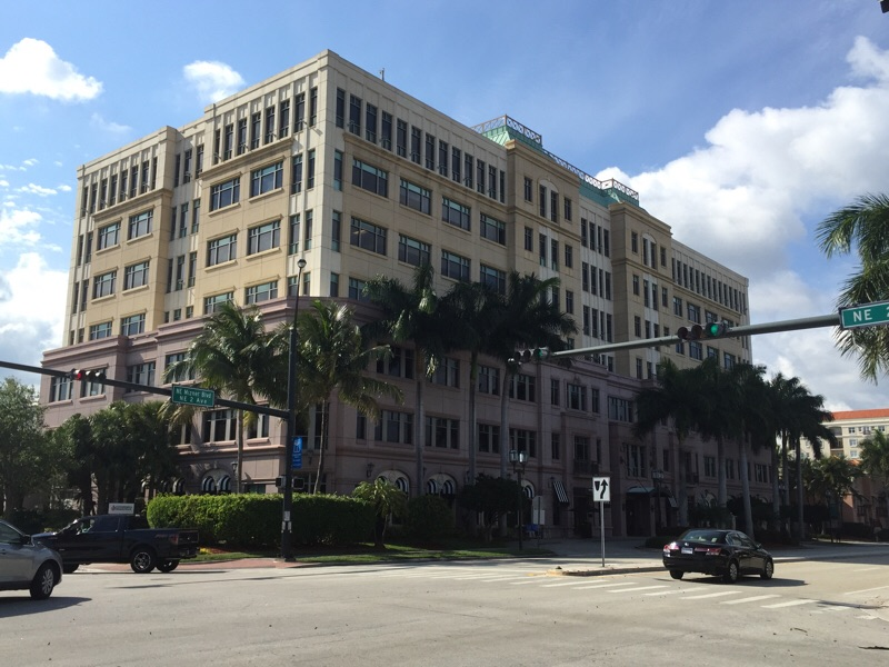 Brockway Moran's office building in Boca Raton.