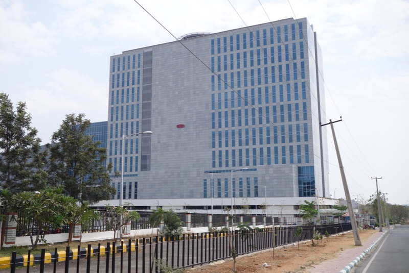 Dupont's Indian headquarters in HITEC City Hyderabad.