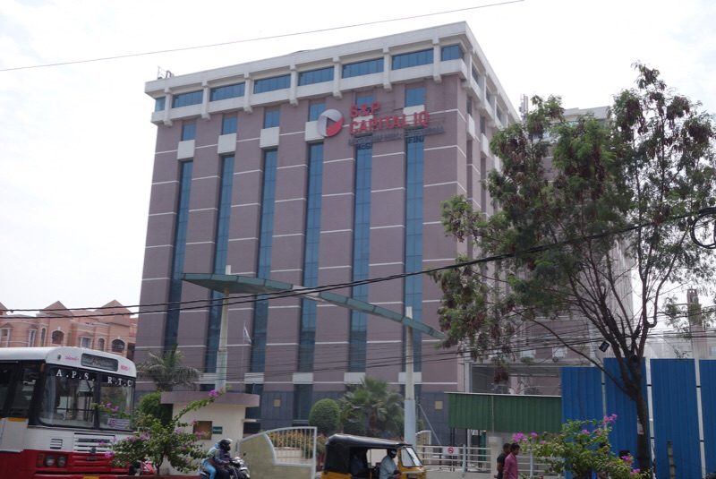 S&P Capital IQ's Indian headquarters in HITEC City Hyderabad.
