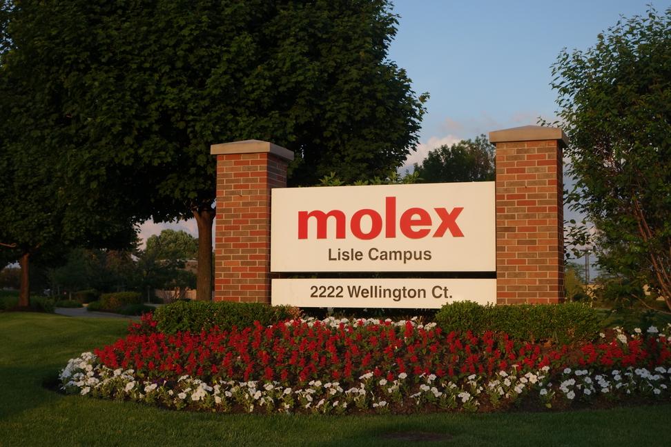 Molex's corporate headquarters in Lisle, Illinois.