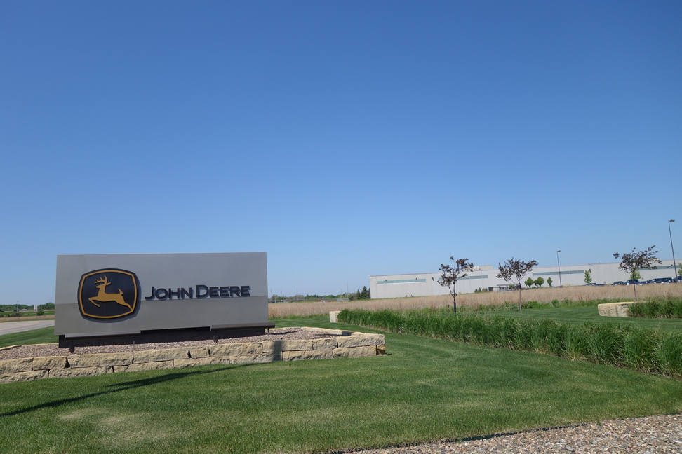 Deere production facility in Moline, Illinois.