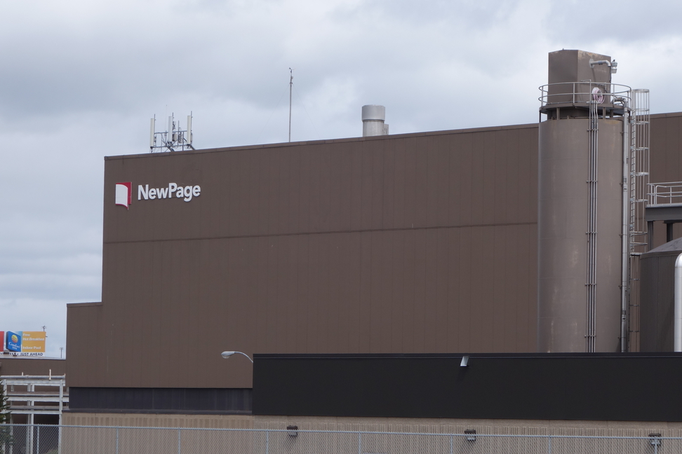 NewPage facility in Duluth, Minnesota.