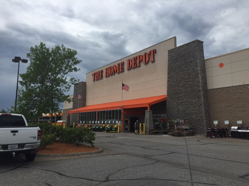 A Home Depot store in Duluth, Minnesota.