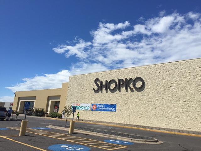 Shopko retail store in Duluth, Minnesota.