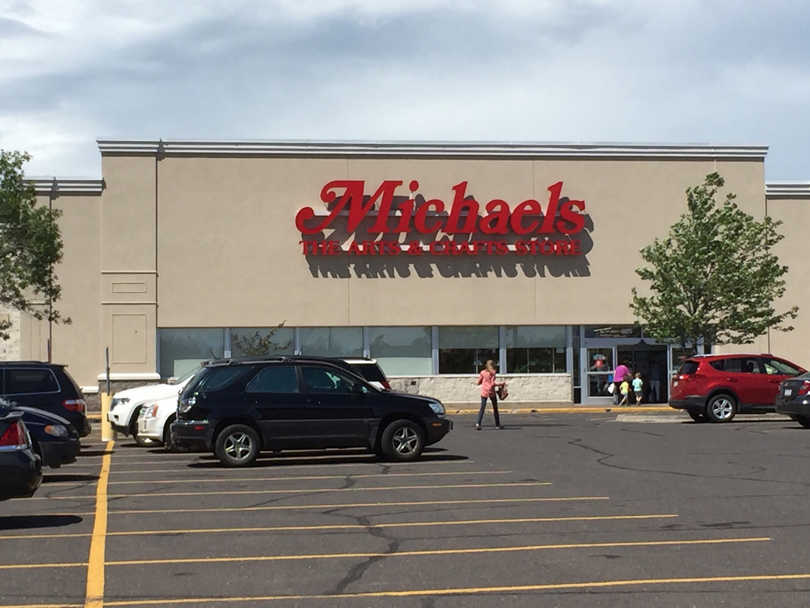 Michaels retail store in Duluth, Minnesota.