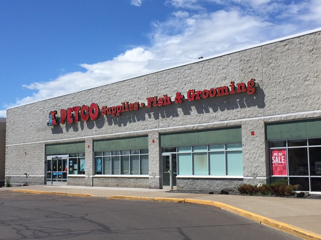 Petco retail store in Duluth, Minnesota.