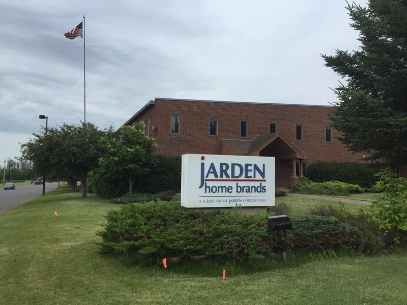 Jarden Home Brands plant in Cloquet, Minnesota where toothpicks, matches, and other wood products are manufactured.