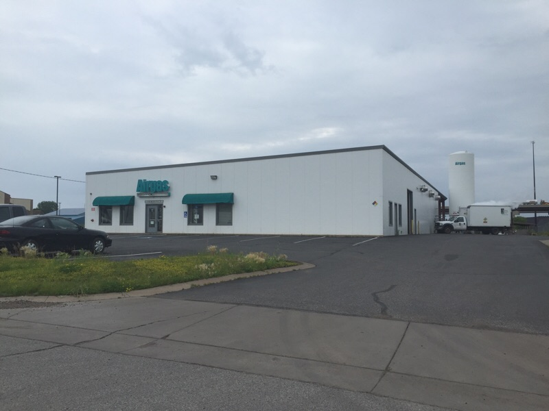 Airgas distribution facility in Duluth, Minnesota.