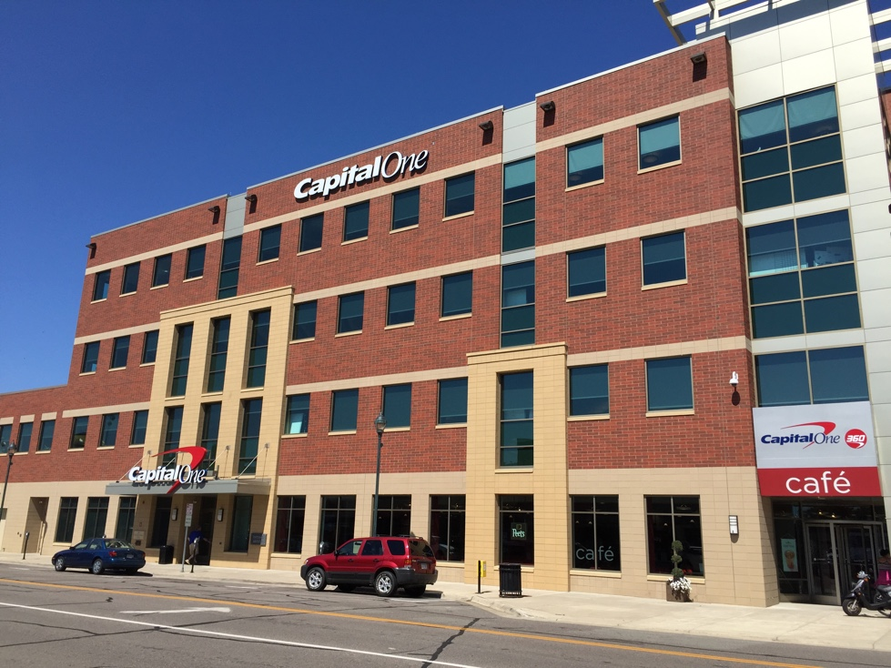 Capital One office located in St. Cloud, Minnesota.
