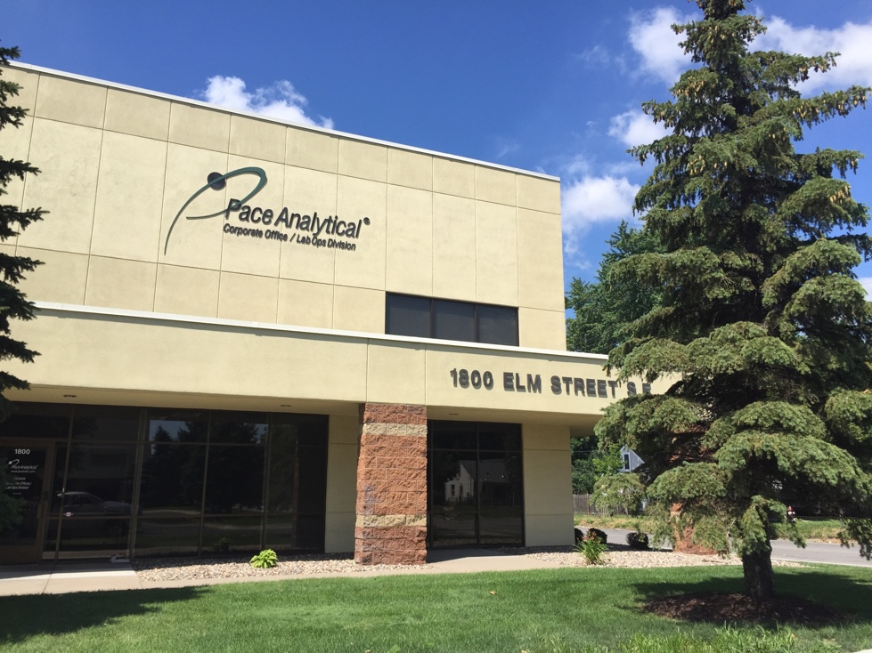 Pace Analytical's Minneapolis corporate headquarters.