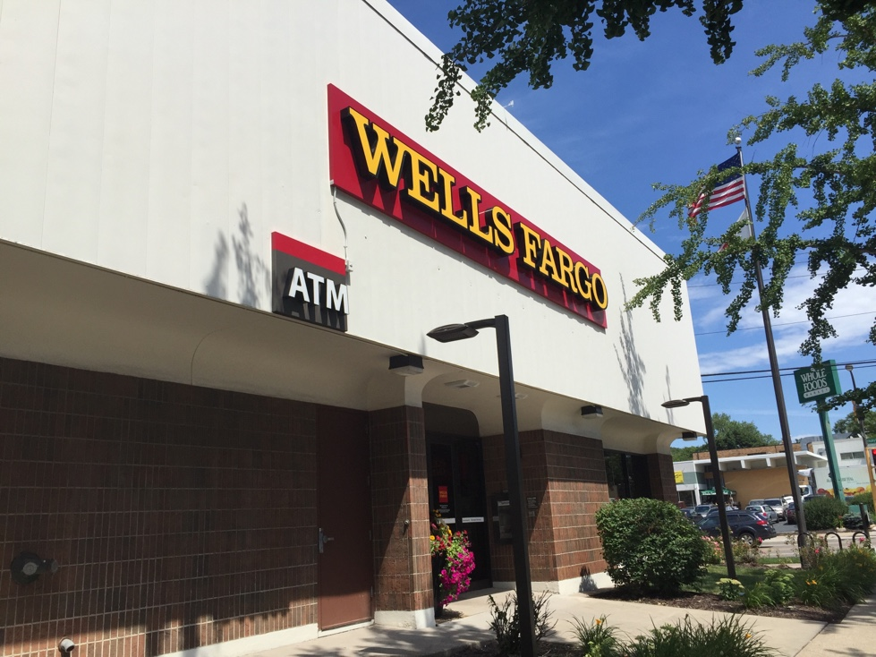 Wells Fargo branch in St. Paul, Minnesota.