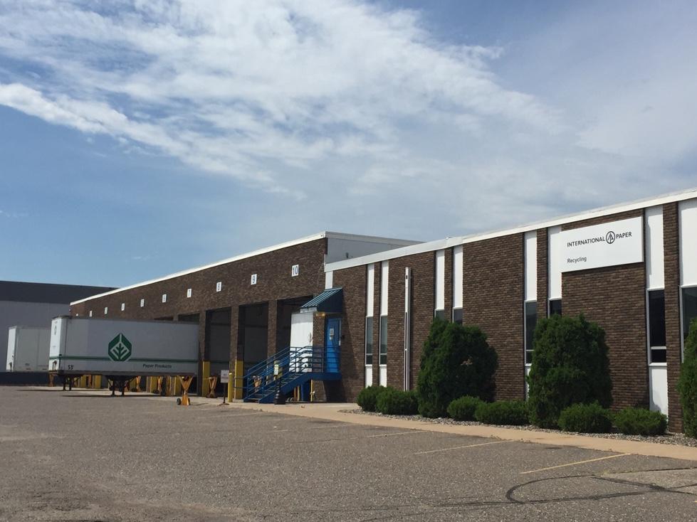 International Paper facility in Roseville, Minnesota.