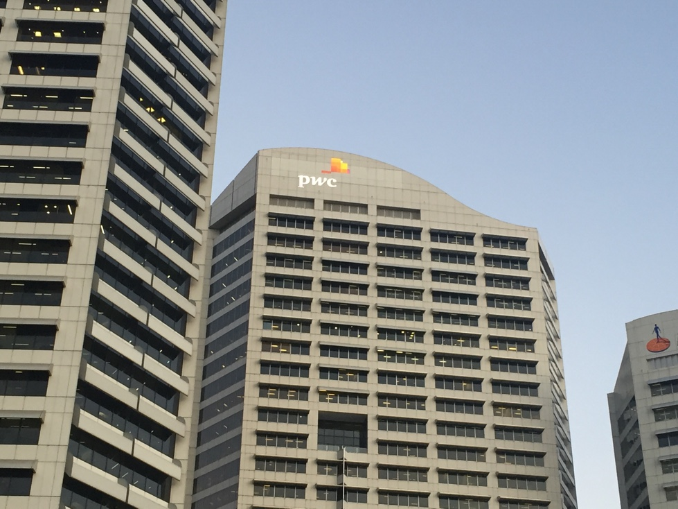 PWC office in Downtown Sydney, Australia.