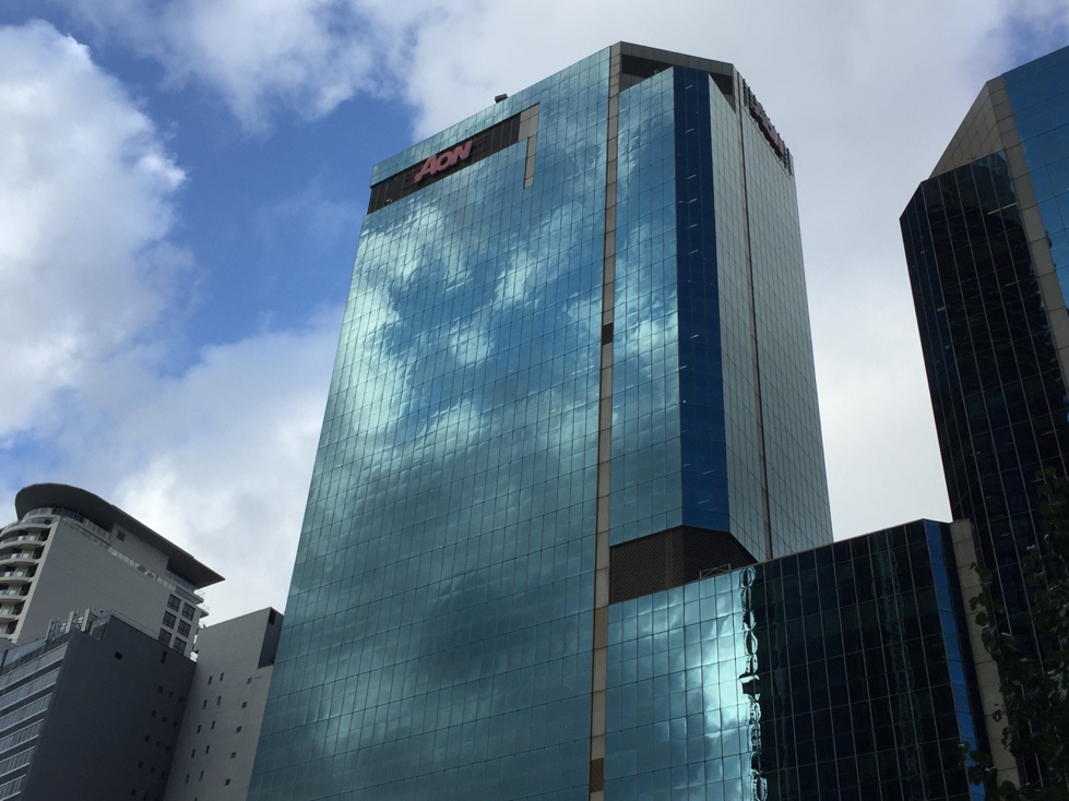 Aon's offices in downtown Sydney, Australia.