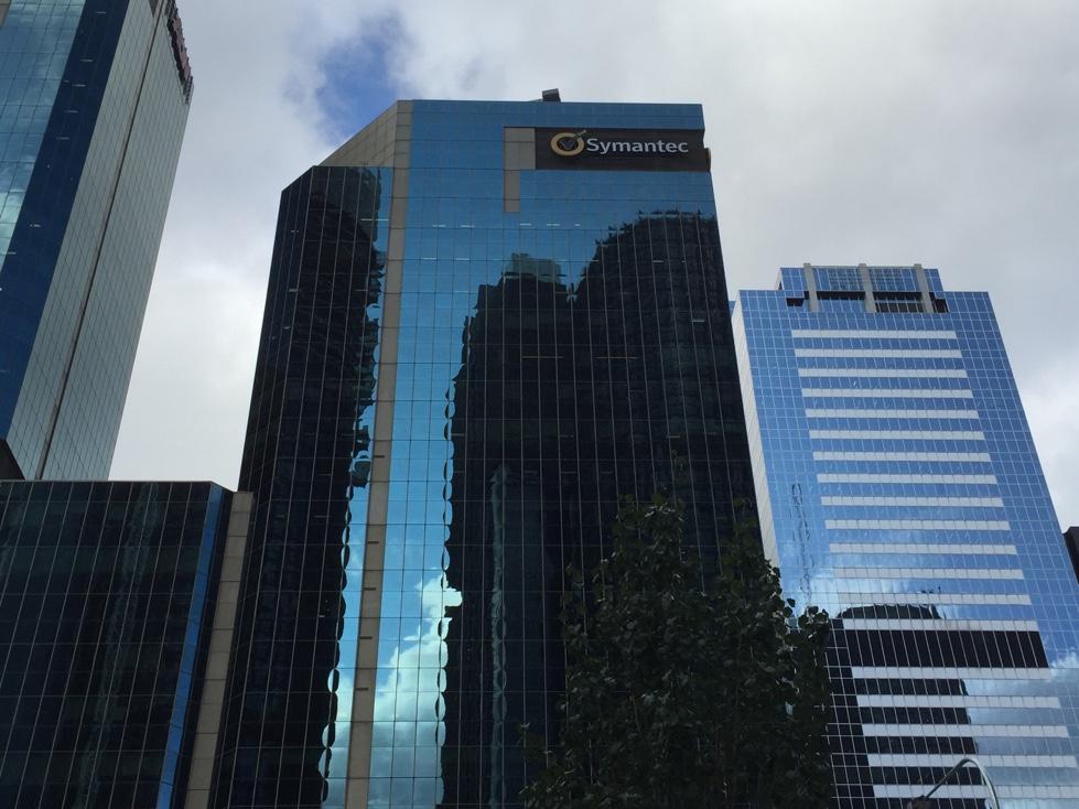 Symantec office in downtown Sydney, Australia.