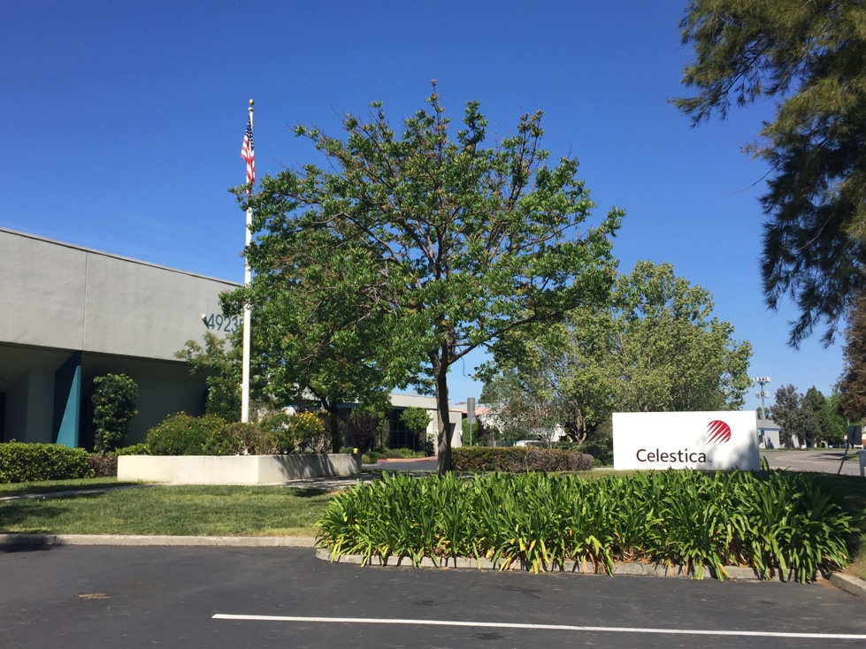Celestica office in Fremont, California.