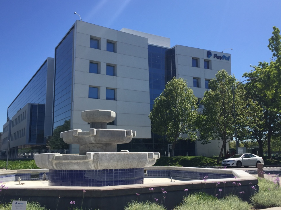 PayPal's corporate headquarters in San Jose, California.