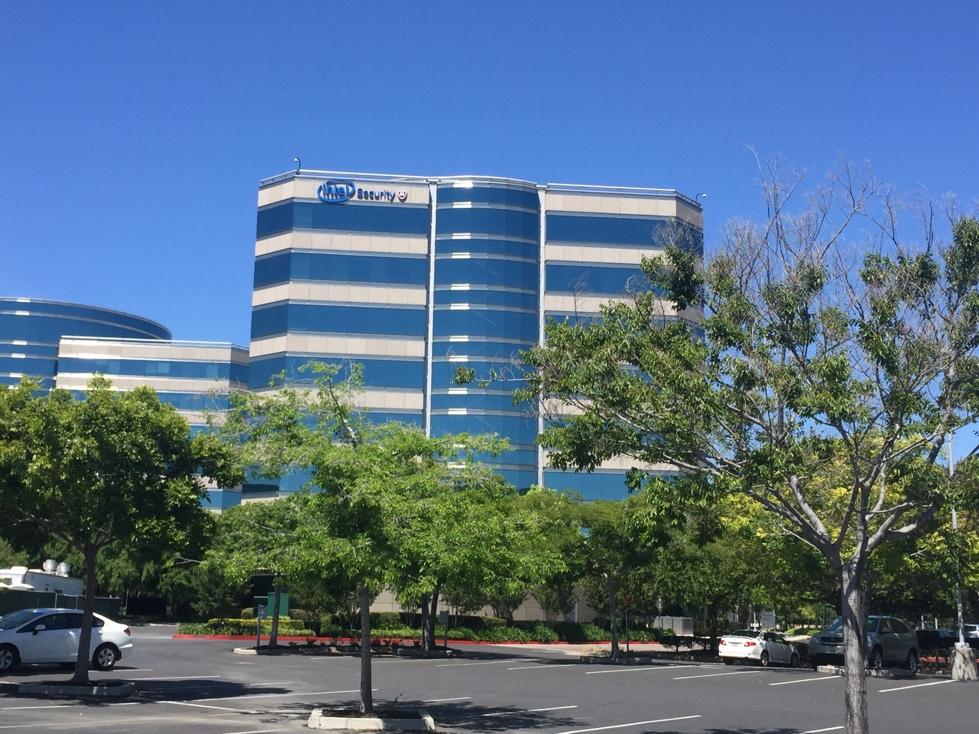 McAfee's corporate headquarters in Santa Clara, California.