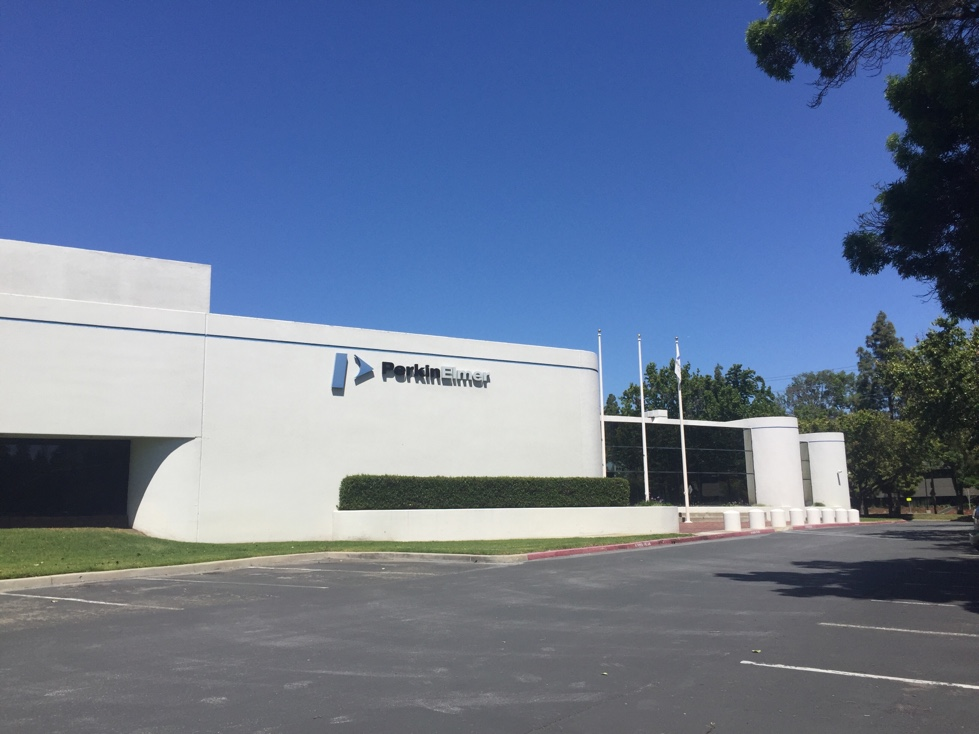 PerkinElmer facility in Santa Clara, California.