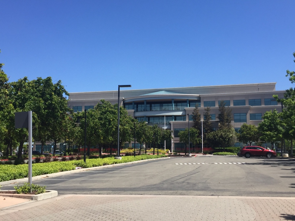 Building No. 16 on Cisco's corporate campus in San Jose, California.