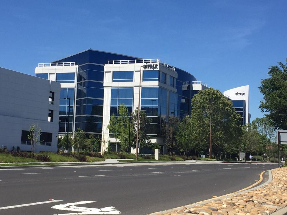 Citrix office in Santa Clara, California.