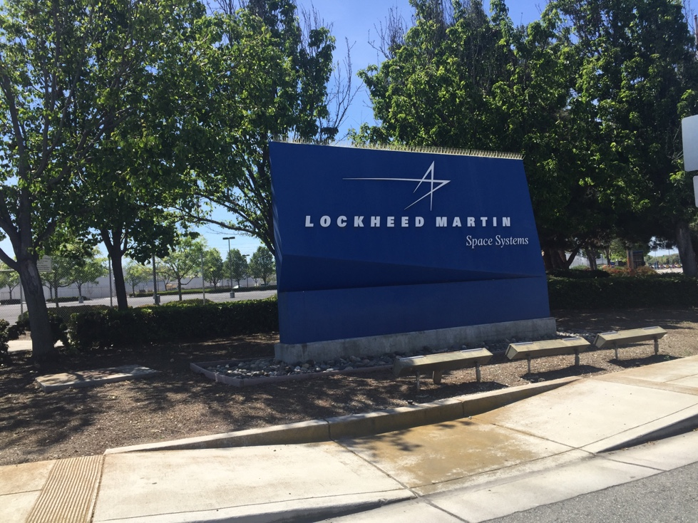 Lockheed Martin's Space Systems facility in Sunnyvale, California.