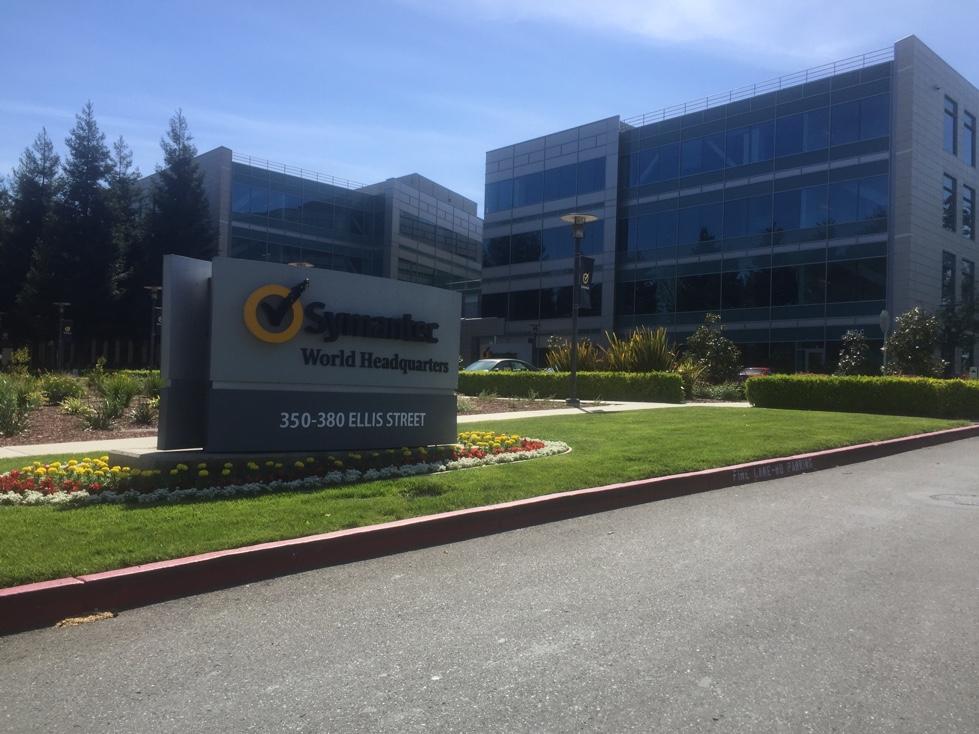 Symantec's corporate headquarters in Mountain View, California.
