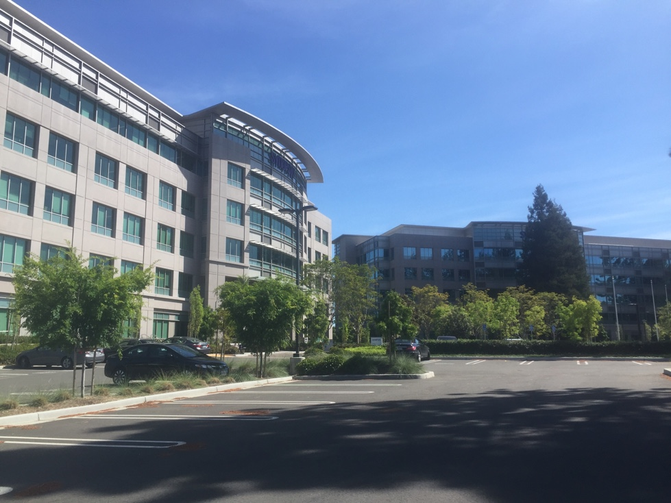 Synoposys' corporate headquarters in Mountain View, California.