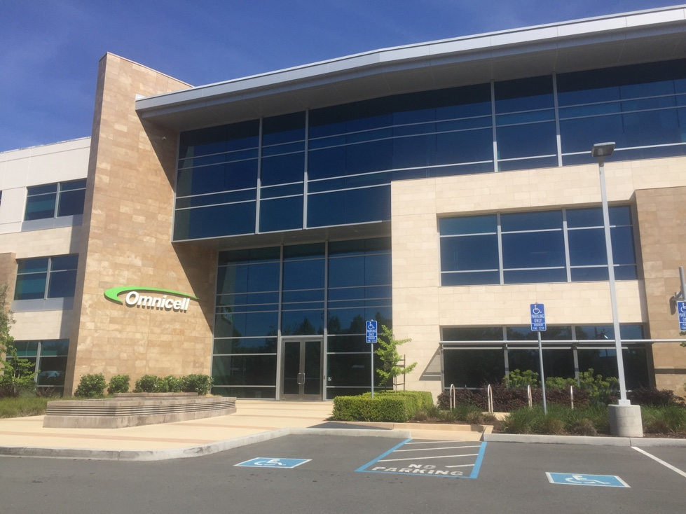 Omnicell's corporate headquarters in Mountain View, California.