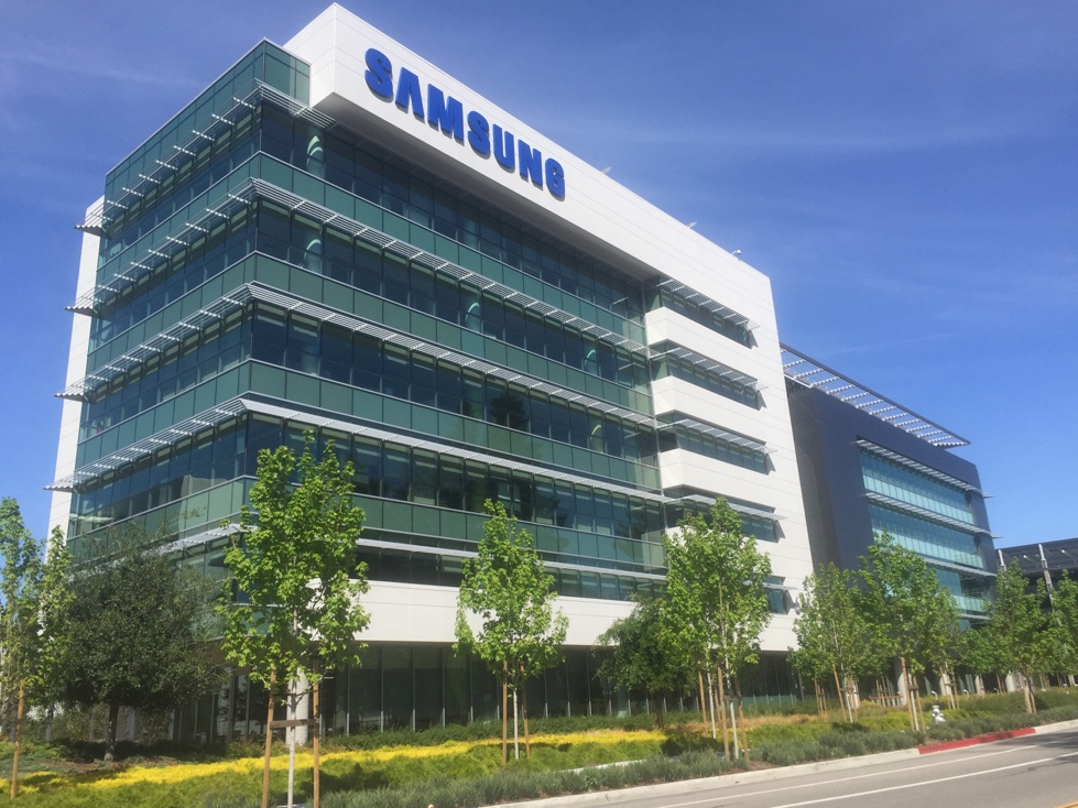 Office on Samsung's corporate campus in Mountain View, California.