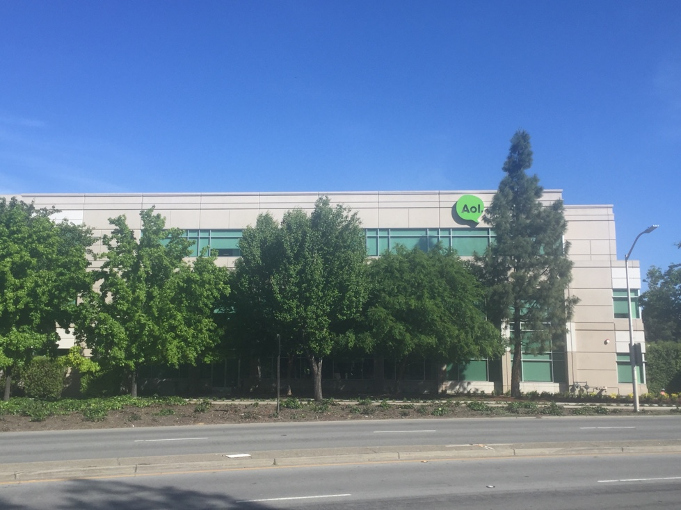 AOL office in Palo Alto, California.