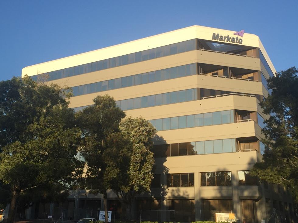 Marketo's corporate headquarters in San Mateo, California.