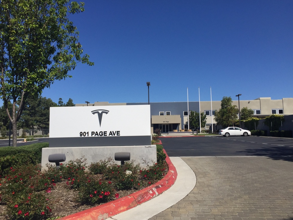 Tesla office in Fremont, California.