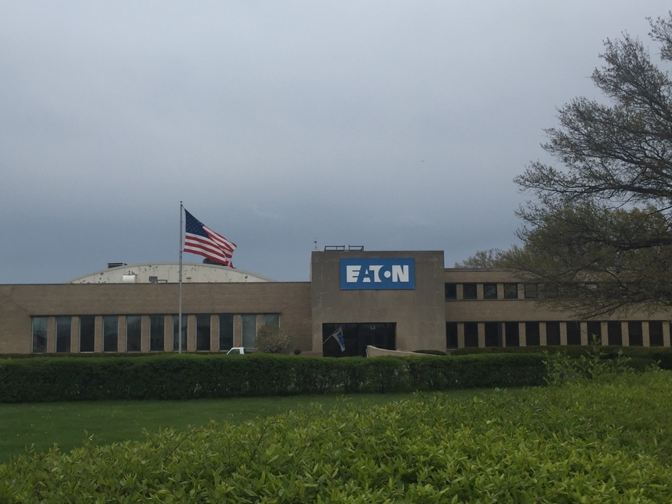 Eaton manufacturing plant in Cleveland, Ohio.