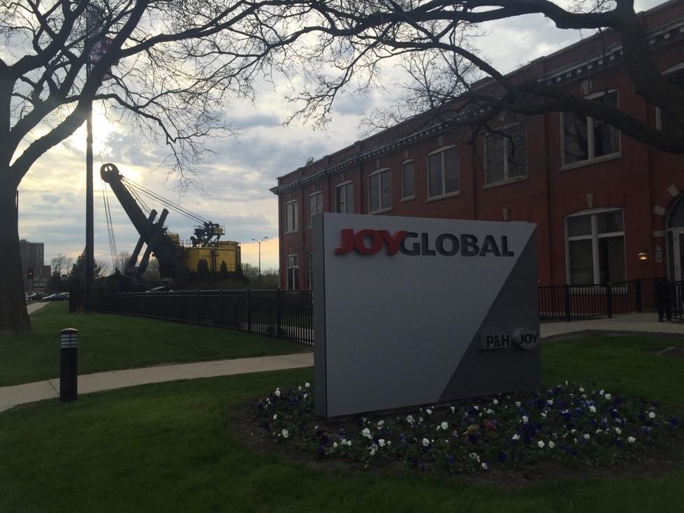 Joy Global's corporate headquarters in Milwaukee, Wisconsin.