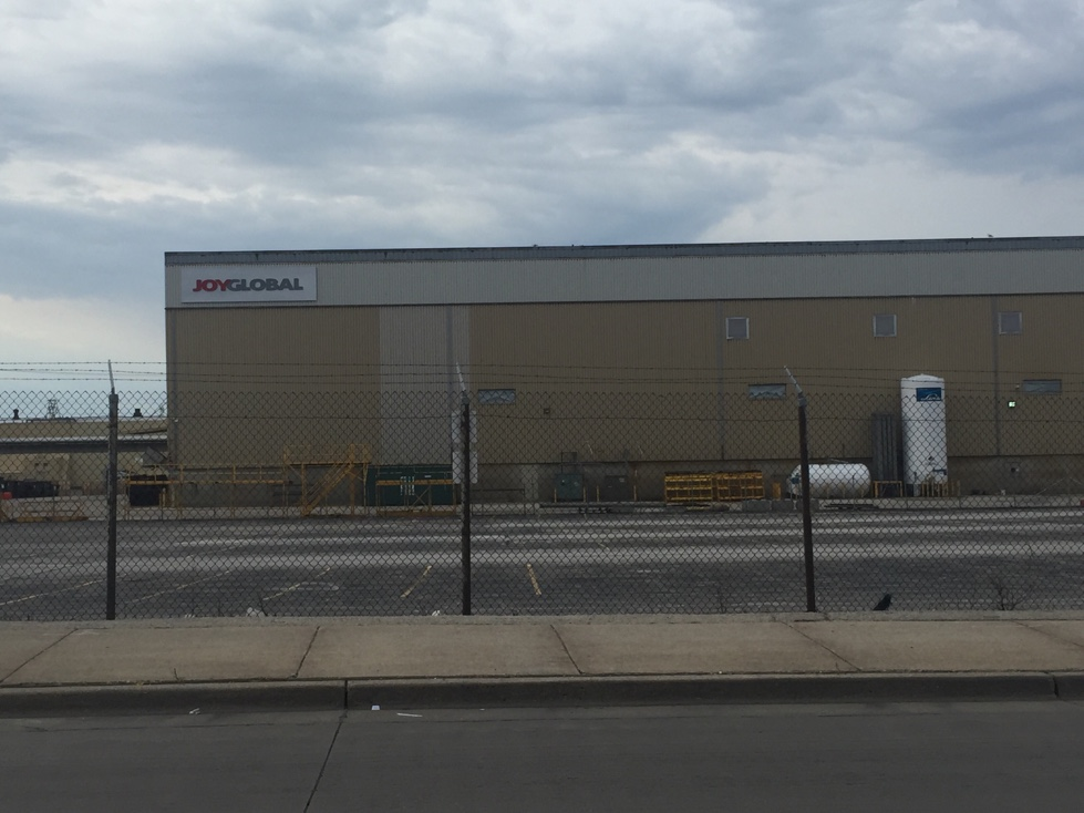 Joy Global manufacturing plant in Milwaukee, Wisconsin.