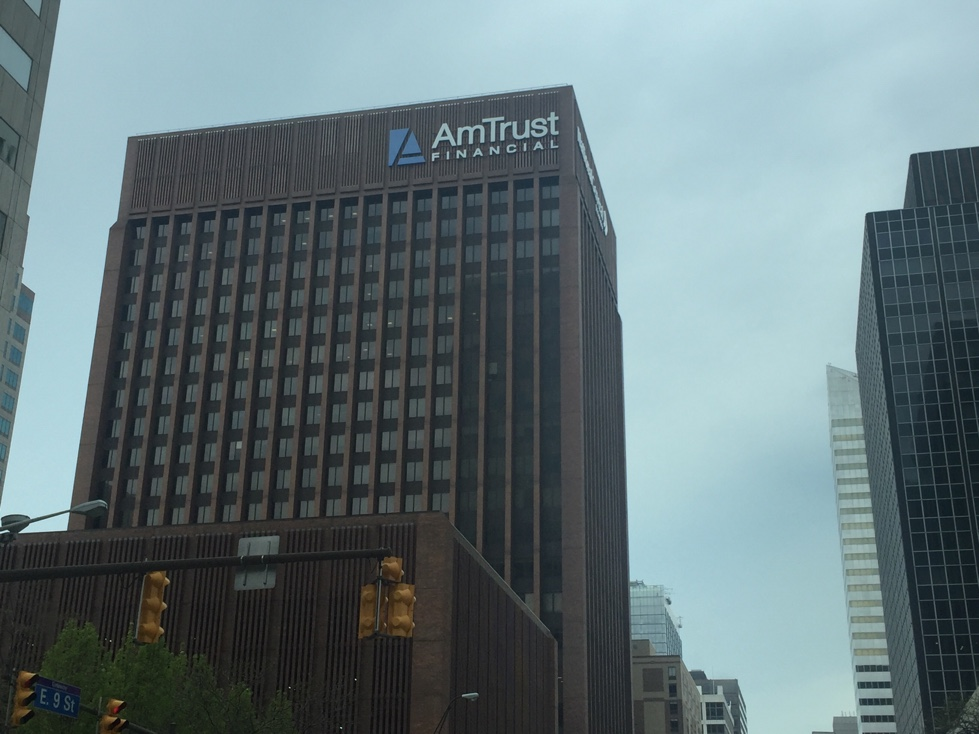 AmTrust Financial office in downtown Cleveland, Ohio.