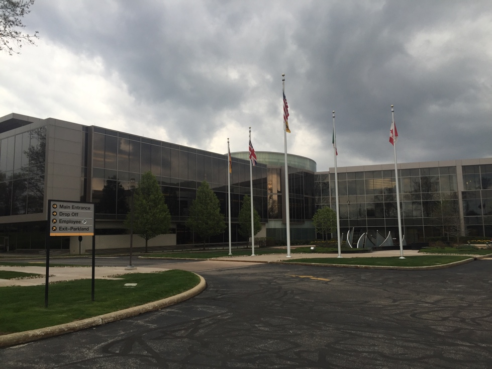 Parker Hannifin's corporate headquarters in Cleveland, Ohio.