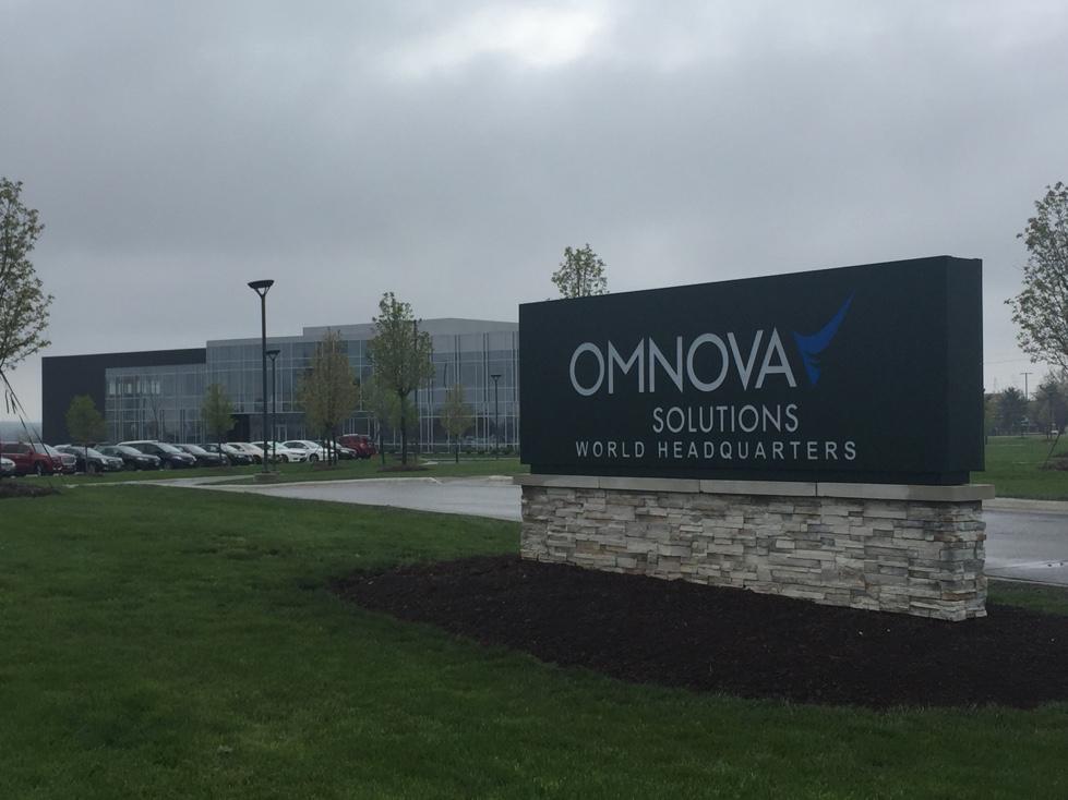 OMNOVA Solutions' corporate headquarters in Fairlawn, Ohio.