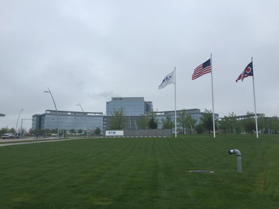 Eaton's operational headquarters in Beachwood, Ohio.