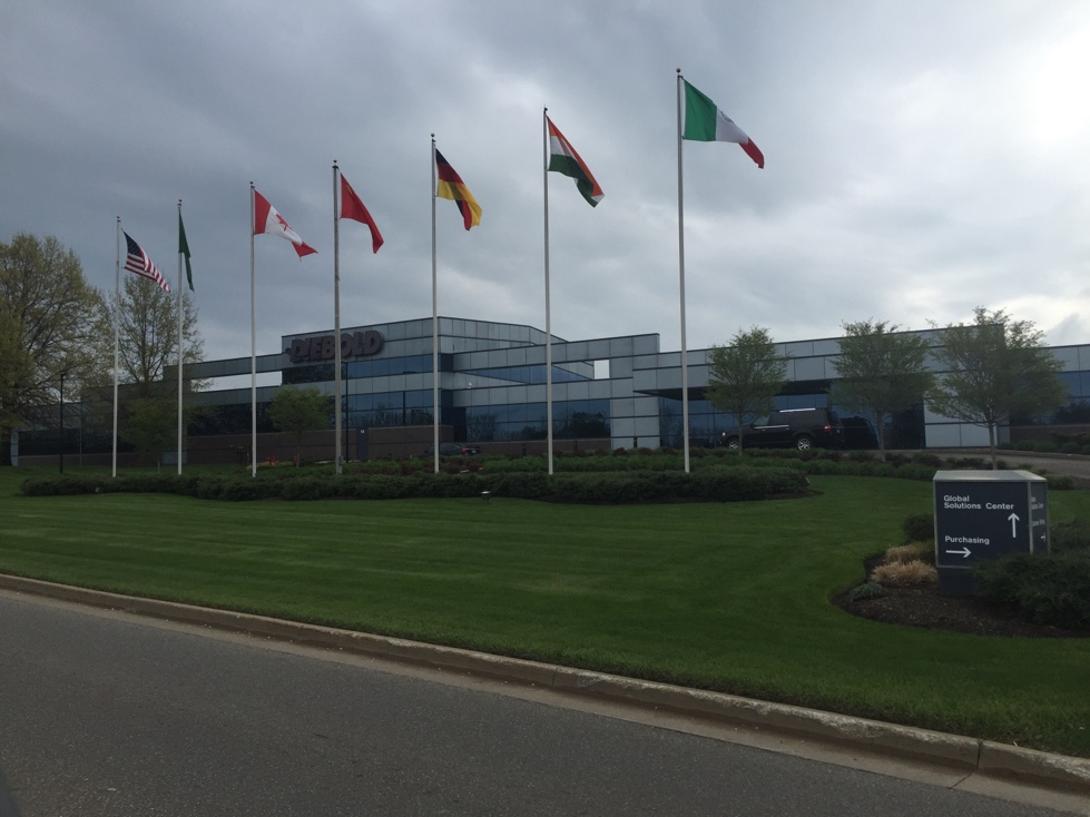 Diebold's corporate headquarters in North Canton, Ohio.