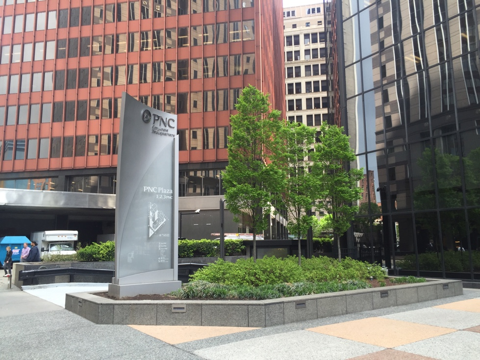 PNC's corporate headquarters in downtown Pittsburgh, Pennsylvania.