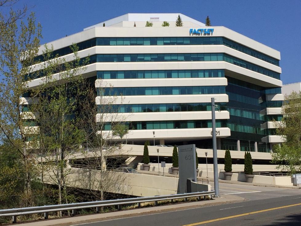FactSet's corporate headquarters in Norwalk, Connecticut.