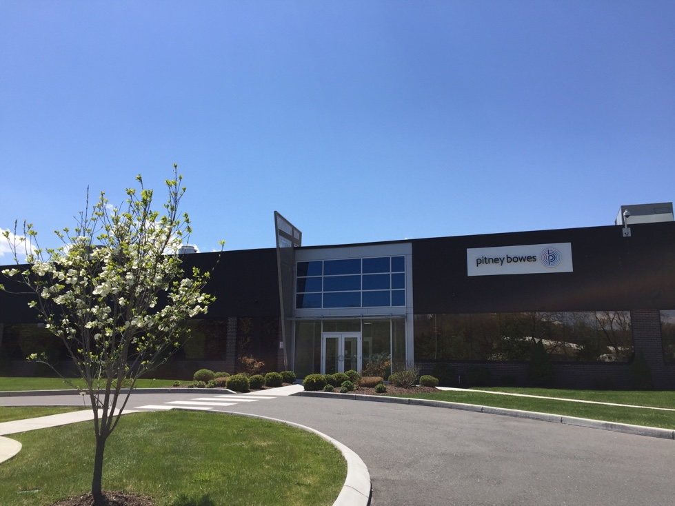 Pitney Bowes facility in Danbury, Connecticut.