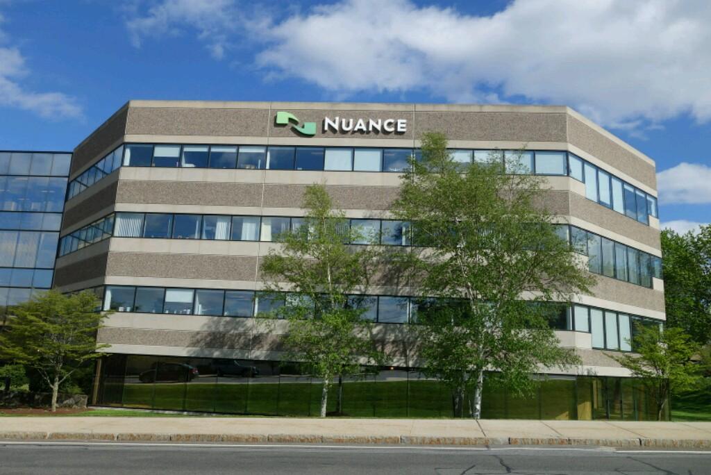 Nuance's corporate headquarters in Burlington, Massachusetts.