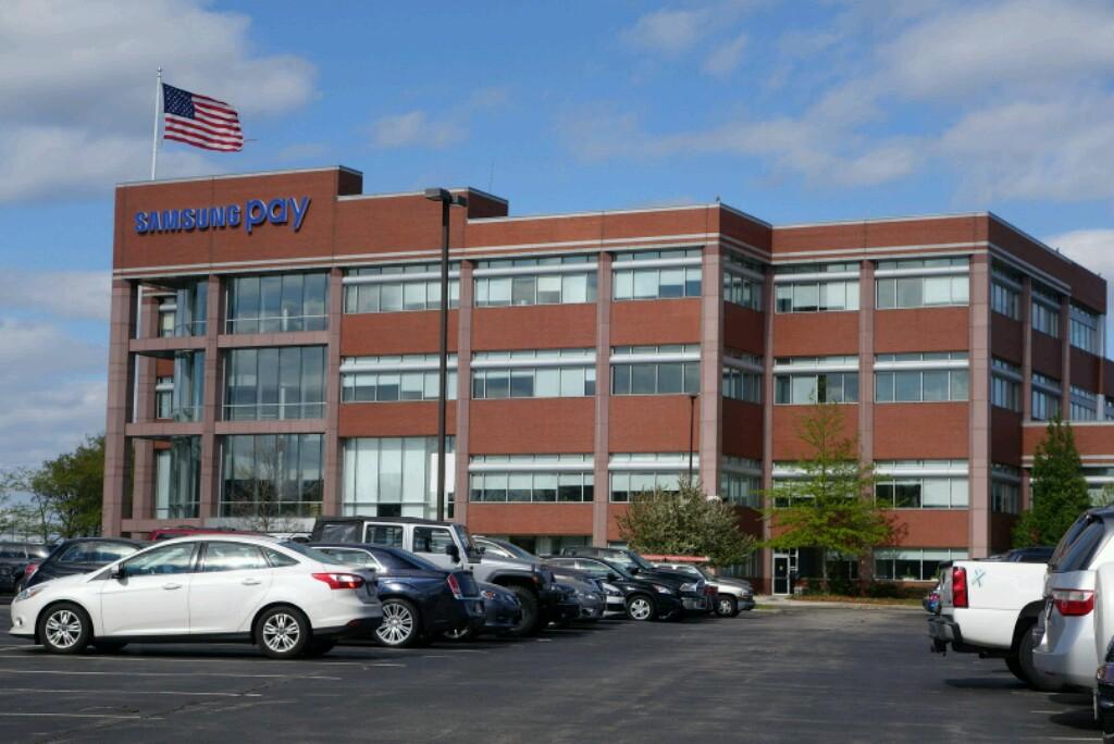 Samsung office in Burlington, Massachusetts.