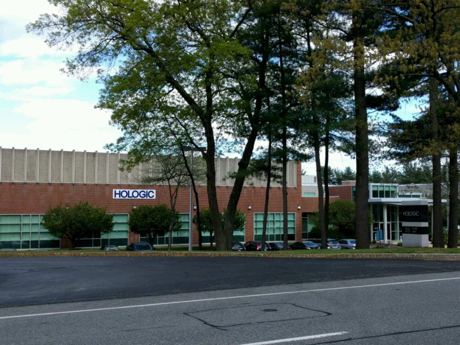 Hologic's corporate headquarters in Marlborough, Massachusetts.