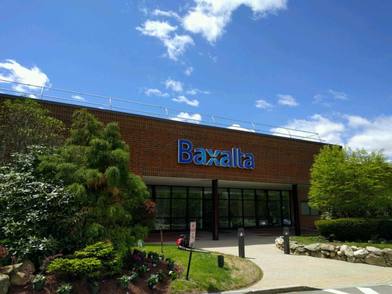 Baxalta office in Milford, Massachusetts.