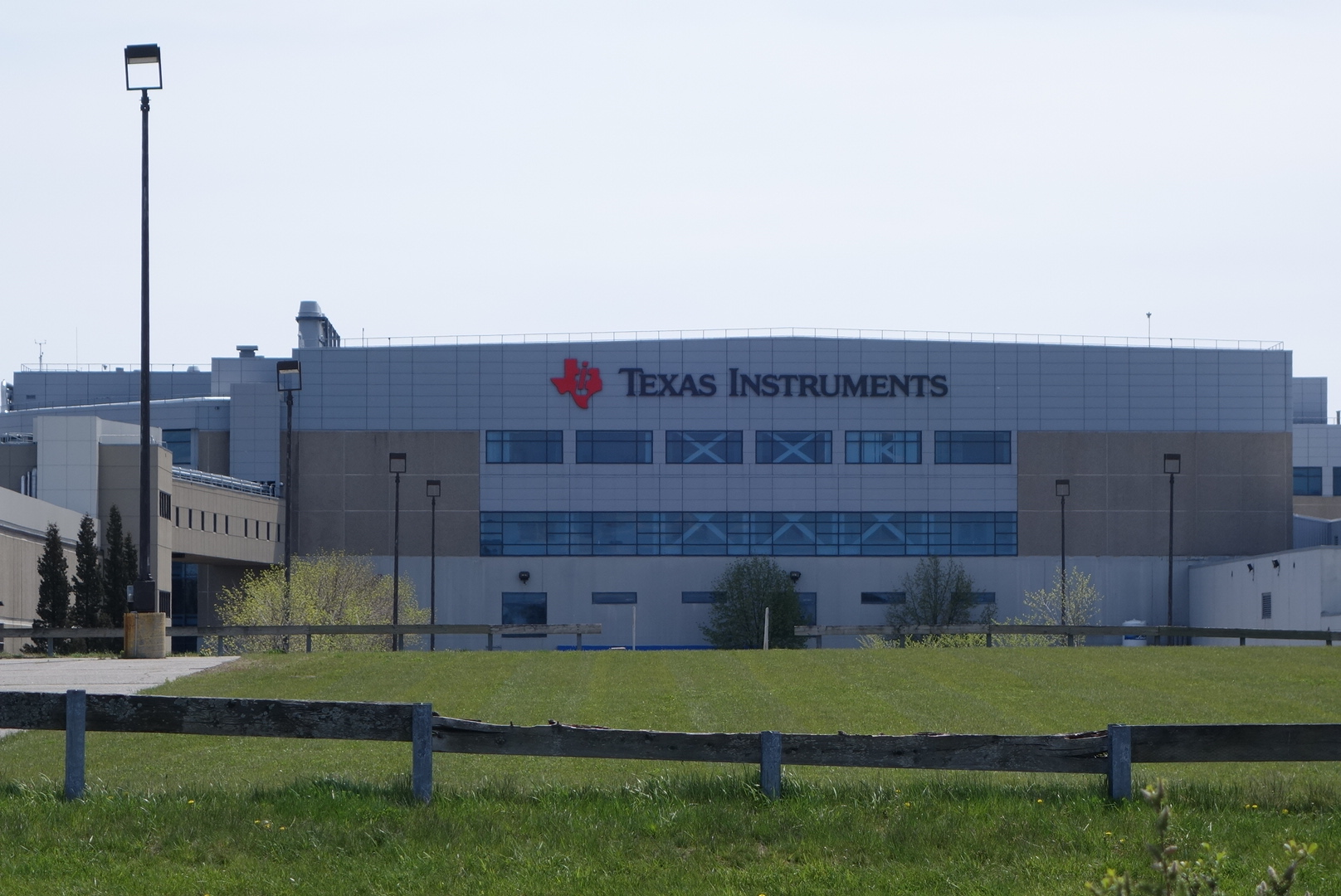 Texas Instruments' plant in Portland, Maine.